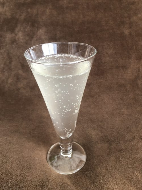 優光泉をレモン炭酸水で試してみた